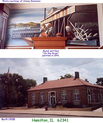Illinois Post Offices