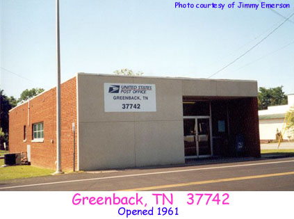 Tennessee Post Offices
